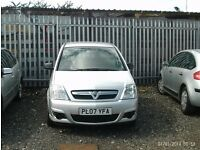 57 PLATE VAUXHALL MERIVA 1.6 FSH FULL MOT DRIVES LIKE NEW CHEAP CAR AT ONLY £895