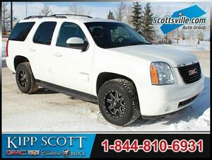 2014 GMC Yukon SLT 4WD, 8 Passenger, Custom Wheels, Leather