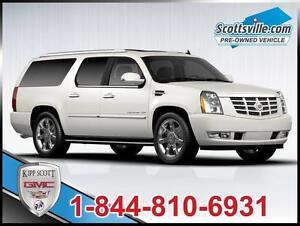 2012 Cadillac Escalade ESV Luxury, Leather, DVD, Sunroof, Nav