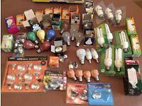 Slack hand full of light bulbs, ideal for house or flat or landlord. £5 for lot.