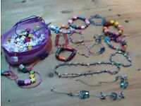 Girls bracelets / necklaces - several designs - lot