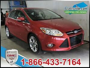 2012 Ford Focus SEL, Leather, Sunroof, Nav