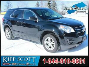 2013 Chevrolet Equinox LS AWD, Cloth, Cruise, A/C, Bluetooth