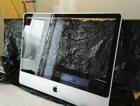 "iMac 24"" Aluminium Front panel and glass screen protector"