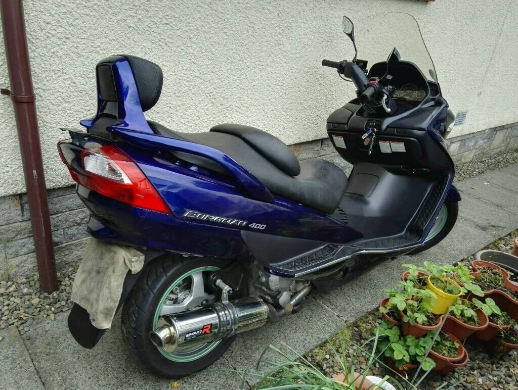 Suzuki Burgman 400 2006 Blue In Falkirk Gumtree 2008 Problems