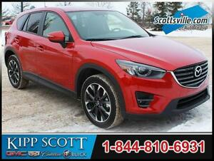 2016 Mazda CX-5 Premium AWD, Nav, Leather, Sunroof, Hitch