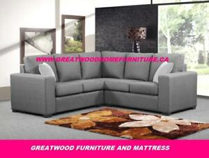 ** BRAND NEW 2 PIECE SECTIONAL SOFA...$799 ONLY **