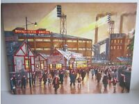 Manchester United Canvas Picture.