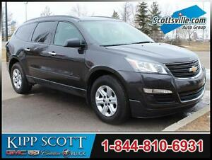 2016 Chevrolet Traverse LS AWD, Cloth, 8 Pass, XM Radio Tuner