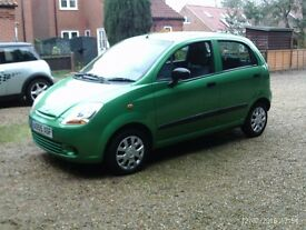 CHEVROLET MATIZ S FOR SALE