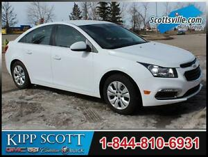 2015 Chevrolet Cruze LT, Cloth, Bluetooth, Remote Start, Auto