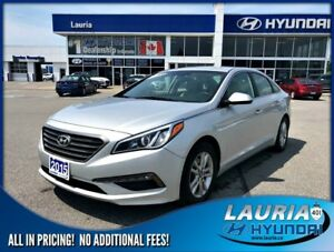 2015 Hyundai Sonata GL Auto / Backup camera