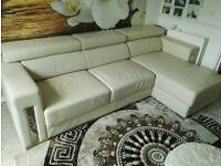Leather corner sofa / excellent condition / possible delivery