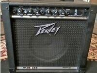 Peavey 15 watt guitar amp, excellent condition
