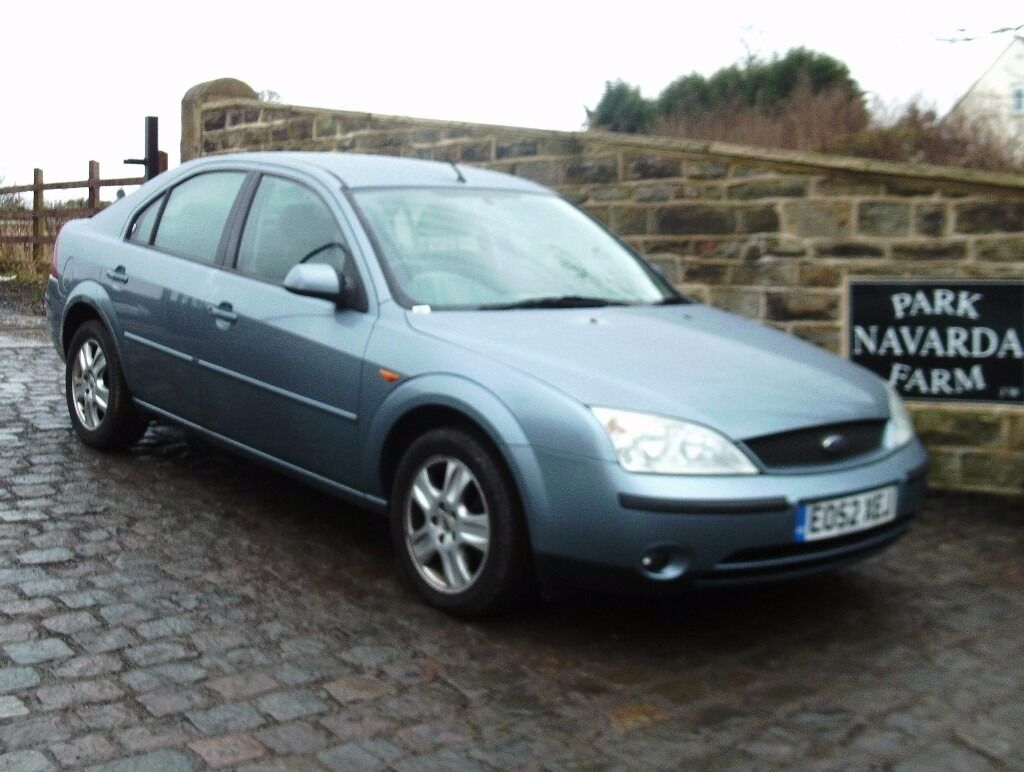 ford mondeo ghia in blue 2002 52 reg full service history one former owner last owner from. Black Bedroom Furniture Sets. Home Design Ideas