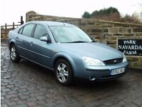 Ford Mondeo Ghia In Blue, 2002 52 reg, Full Service History, One Former Owner, Last Owner From 2003