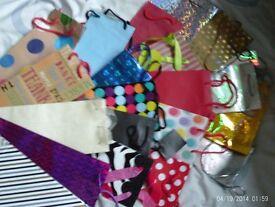 20 gift bags for bottles