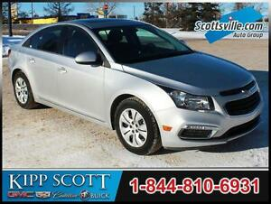 2016 Chevrolet Cruze Limited LT, Cloth, Sunroof, Pioneer Audio