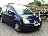 Renault Modus Dynamique 5door Hatchback In Blue. 2005 54reg. Last Service 3rd May 2016