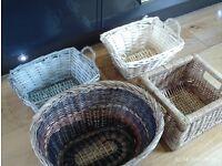 4 set of 4 lovely storage baskets