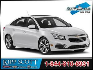 2015 Chevrolet Cruze LS, 6AT, Cloth, Cruise, A/C, 1 Owner, Clean