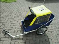 Spokey Joe double buggy child bicycle trailer