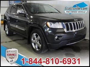 2011 Jeep Grand Cherokee Limited, Leather, Navigation, Sunroof