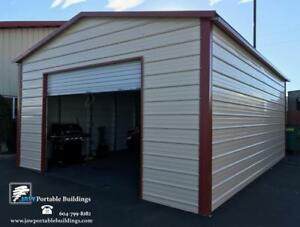 Shop or .... Portable Carports - Steel - Call today