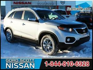 2013 Kia Sorento LX V6, Leather, Power Liftgate, Cruise, A/C