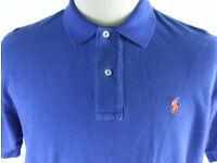 Polo Ralph Lauren Mens Short Sleeve Blue Top Tee T-shirt TW64