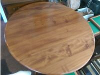 Vintage Retro Ercol dining table Mid century blue label Refubished