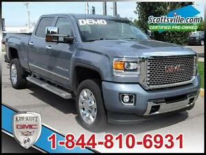 2016 GMC Sierra 2500HD Denali, Leather, Sunroof, Driver Alert