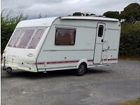 2 Berth Compass Herald Clarion Touring caravan with Motor Mover and Rear Bathroom