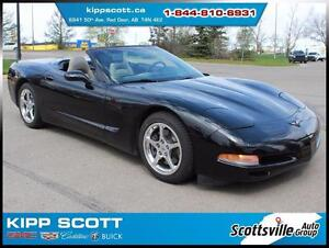 2000 Chevrolet Corvette C5 Convertible, 6-Speed, Leather, Low KM