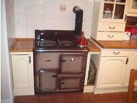 Rayburn OF22 oil fired cooker.