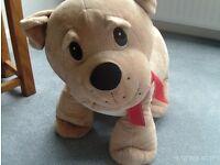 Very large Disney puppy dog soft toy