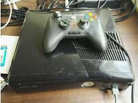Xbox 360, 10 games and 2 moded controllers