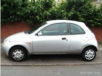 BARGAIN 53 plate 2003 ford ka 1 year mot LADY OWNER DRIVES PERFECT