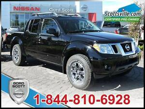 2015 Nissan Frontier PRO-4X, Cloth, Cruise, A/C, Low KM, 1 Owner