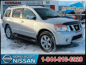 2012 Nissan Armada Platinum AWD, Tech Pkg, Nav, Sunroof, Leather