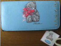 NEW 'Me to You' Large blue Wallet/Purse and other purses.