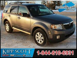 2011 Mazda Tribute Premium AWD, Nav, Leather, Sunroof, Hitch