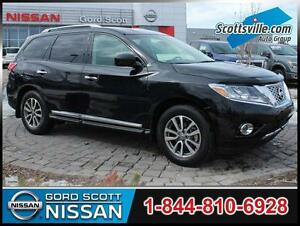 2013 Nissan Pathfinder SL 4WD, Leather, Sunroof, 7 Pass, Clean
