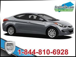 2012 Hyundai Elantra GLS, Cloth, 6-Speed, Cruise, A/C