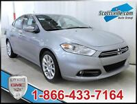 2015 DODGE DART LIMITED, LEATHER, NAVIGATION, REMOTE START