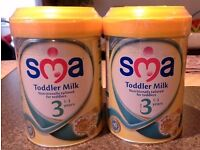 SMA Baby 3rd Stage Milk (Price for Both)