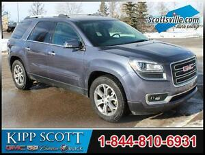 2013 GMC Acadia SLT-1 AWD, V6, Leather, 7 Passenger, Trailering