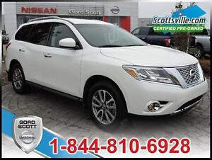 2015 Nissan Pathfinder SV AWD, Heated Cloth, Fog Lights,USB/iPod