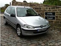 Peugeot 106 Independence In Silver, 2002 52 reg, One Owner, Genuine Miles