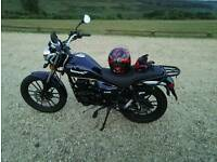 Lexmoto Zsb 125 / only 900 miles